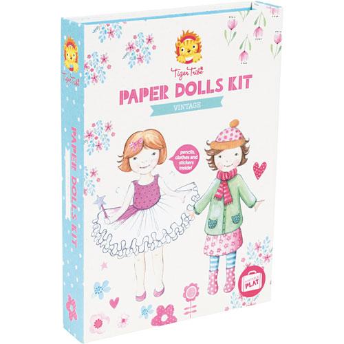Vintage - Paper Dolls Kit