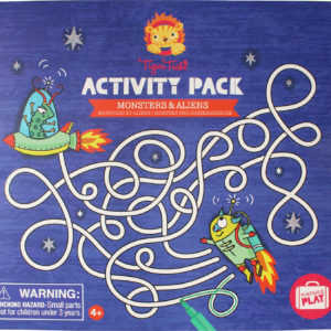 Monsters & Alien - Activity Pk