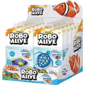 Fish-Turtle Astd - Robo Alive