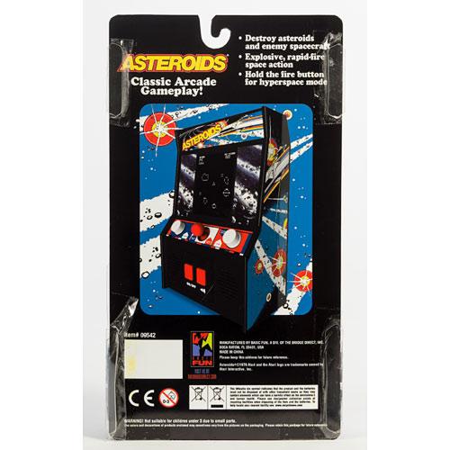 Asteroids Arcade Game