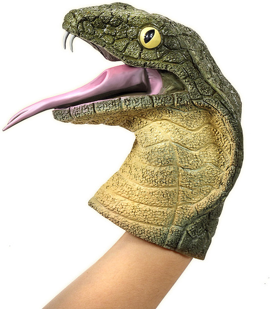 Cobra Hand Puppet
