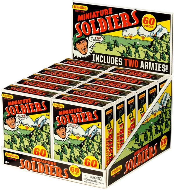 Retro Mini Soldier 60 Pack
