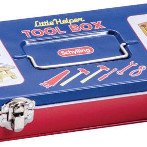Tin Tool Box W/Tools