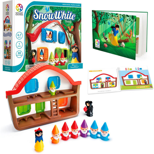 Snow White Deluxe Puzzle Game