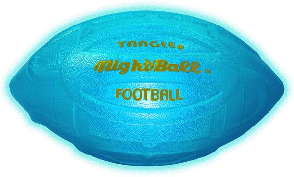 NightBall™ Inflated Football - Blue