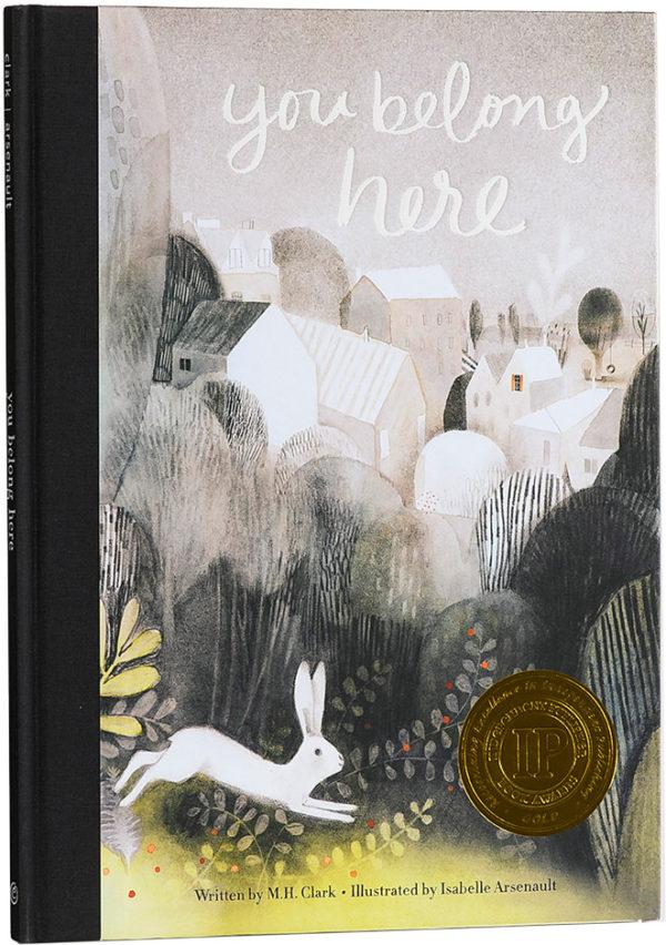 You Belong Here Hardcover Book