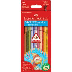 24 GRIP Watercolor EcoPencils