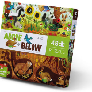 Above + Below Floor Puzzle - Backyard Discovery 48 pc