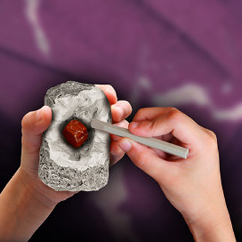 I Dig It! Rocks & Fossils - Mini Excavation (24 unit display)