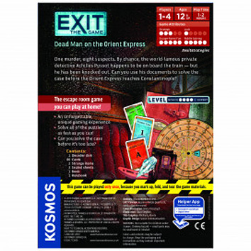 EXIT: Dead Man on the Orient Express