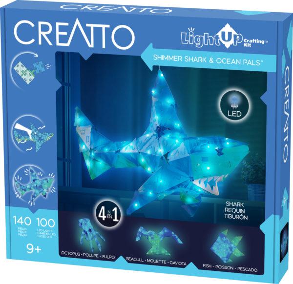 Creatto: Shimmer Shark & Ocean Pals