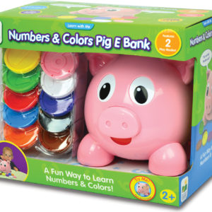 Learn with Me - Numbers and Colors Pig E Bank