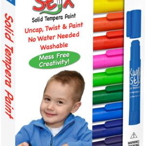 ThinStix Tempera Paint - 12 Thin Classic Colors