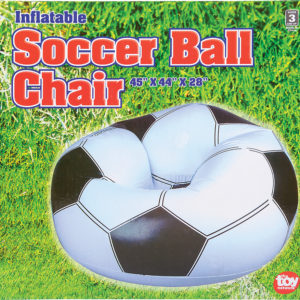 "45""X44""X25"" Soccer Ball Chair Inflate"