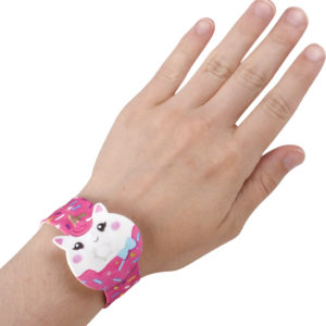 "9"" Unicorn Donut Slap Bracelet"