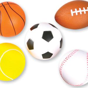 """3.5"""" Foam Sports Balls"""