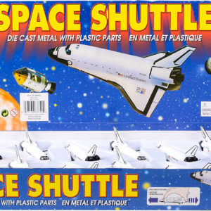 "5"" Die Cast Pull Back Space Shuttle"