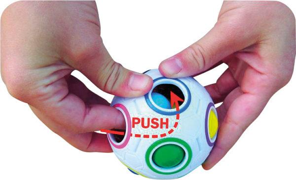 COLOR SHIFT PUZZLE BALL