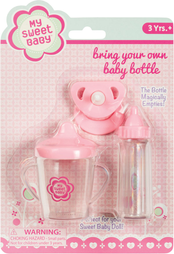 BRING YOUR OWN BABY BOTTLE