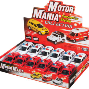 Motor Mania Emergency Vehicles