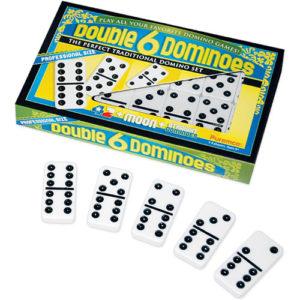 Double 6 Dominoes, Prof. Size