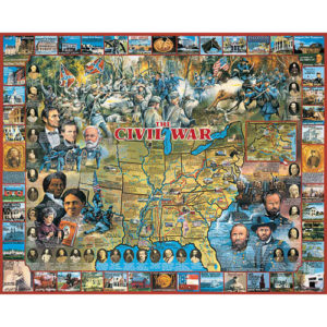 Civil War Jigsaw Puzzle-White Mountain Puzzles