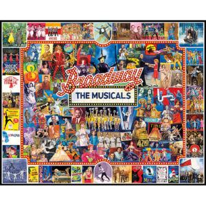 Broadway-1000 Pieces puzzle-White Mountain Puzzles