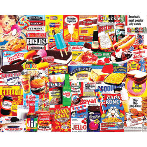 Things I Ate As A Kid Puzzle-White Mountain Puzzles