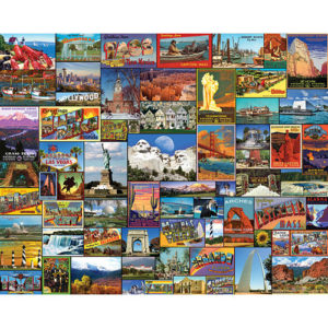 Best Places in America- 1000 PC-White Mountain Puzzles