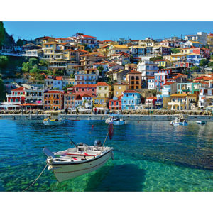 Parga Greece-1000 Piece Puzzle-White Mountain Puzzles