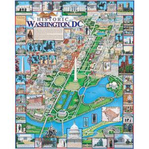 Historic Washington, DC Puzzle-White Mountain Puzzles