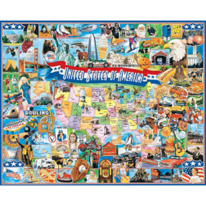 United States of America Puzzle-White Mountain Puzzles