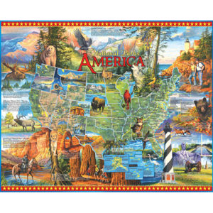 National Parks America Puzzle-White Mountain Puzzles