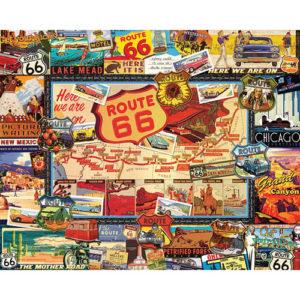 Route 66 Puzzle-White Mountain Puzzles