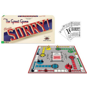 Sorry Classic Edition Board Game