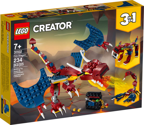 LEGO CREATOR 3 in 1 - Fire Dragon
