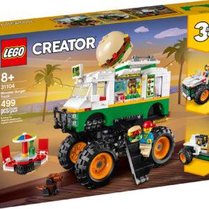 LEGO CREATOR 3 in 1 - Monster Burger Truck