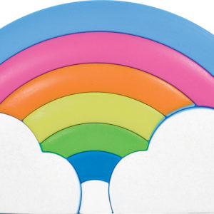 Rainbow Silicone Pencil Case