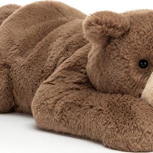 Woody Bear Lying Pose