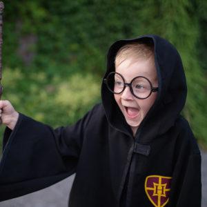 Wizard Cloak & Glasses