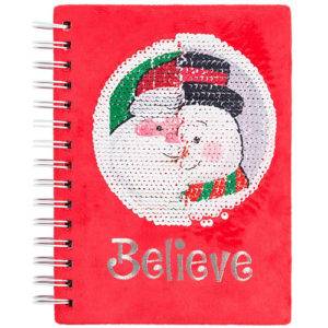 Santa Magic Sequin Journal
