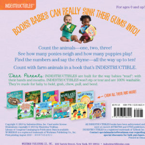 Indestructibles: Baby, Let's Count!: Chew Proof · Rip Proof · Nontoxic · 100% Washable (Book for Babies, Newborn Books, Safe to Chew)