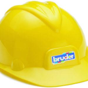 Construction toy helmet