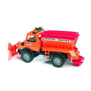 Mb Unimog W Snow Plow
