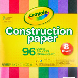 96 Ct. Construction Paper