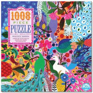 Peacock Garden 1000 Piece Puzzle
