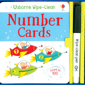 Wipe-Clean, Number Cards