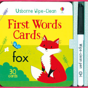 Wipe-Clean, First Words Cards