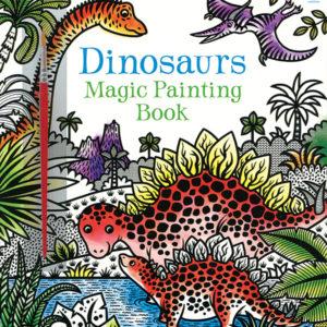 Magic Painting Book, Dinosaurs