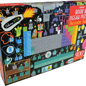 Periodic Table - Book & Jigsaw Puzzle (Ir)